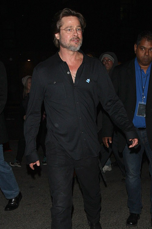 Brad Pitt à Los Angeles le 25 avril 2015