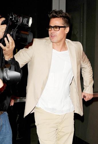 Brad Pitt à Los Angeles le 26 mars 2014