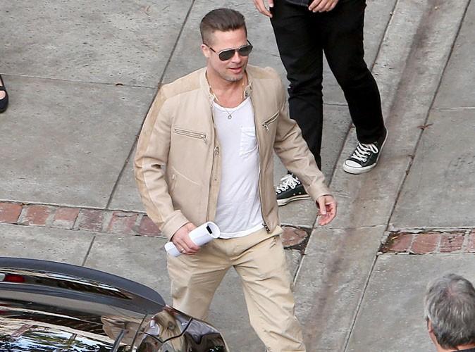 Brad Pitt : en possession d'un script top secret !