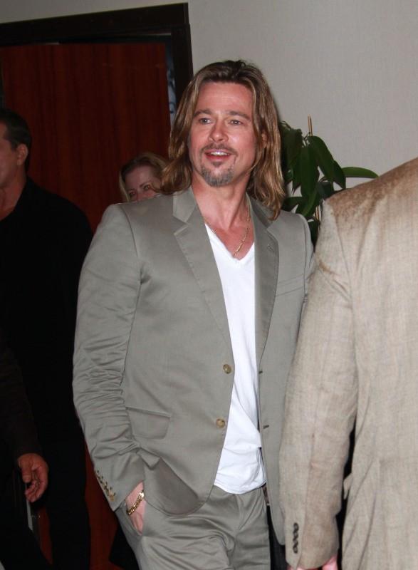Brad Pitt à Cannes, le 22 mai 2012.