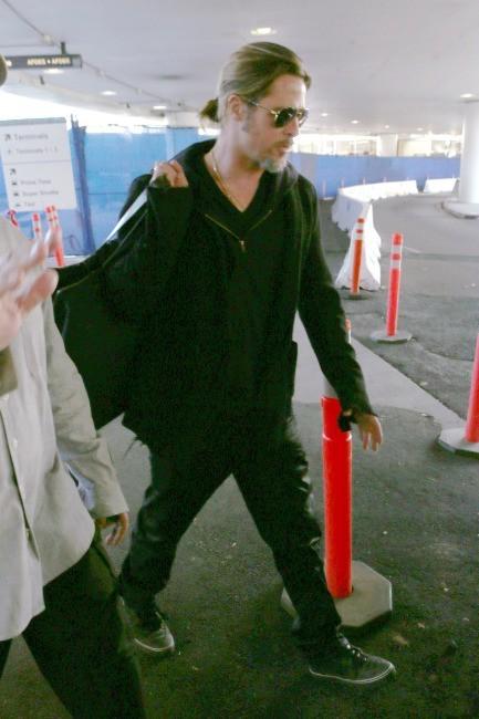 Brad Pitt le 8 janvier 2013 à Los Angeles