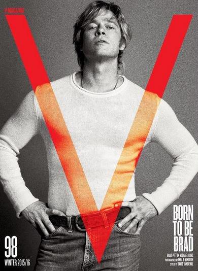 Photos : Brad Pitt : ultra hot dans une ambiance très 70's !