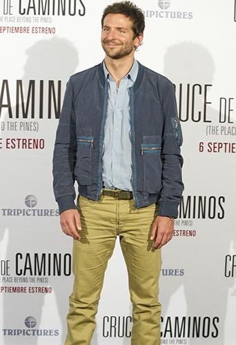 Bradley Cooper à Madrid le 4 septembre 2013