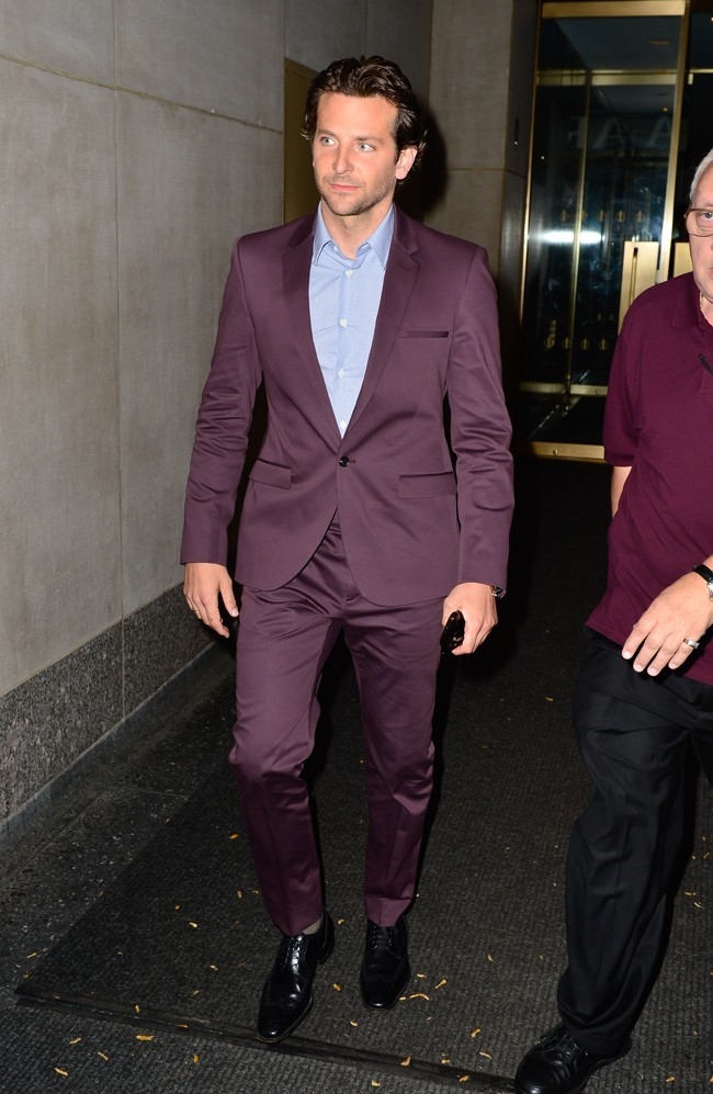 Bradley Cooper le 27 août 2012 à New York