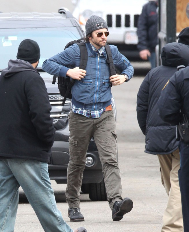 Bradley Cooper le 25 mars 2013 à Boston