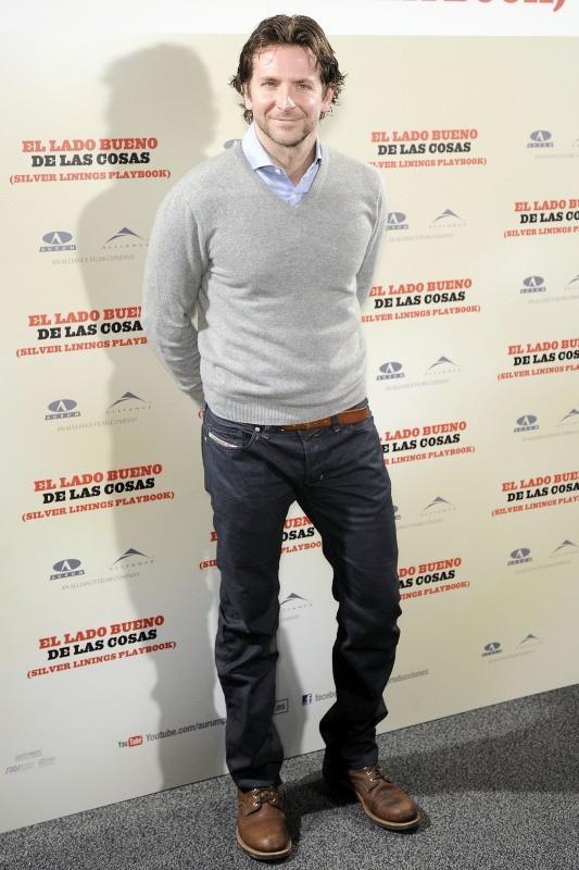 Bradley Cooper le 16 janvier 2013 à Madrid
