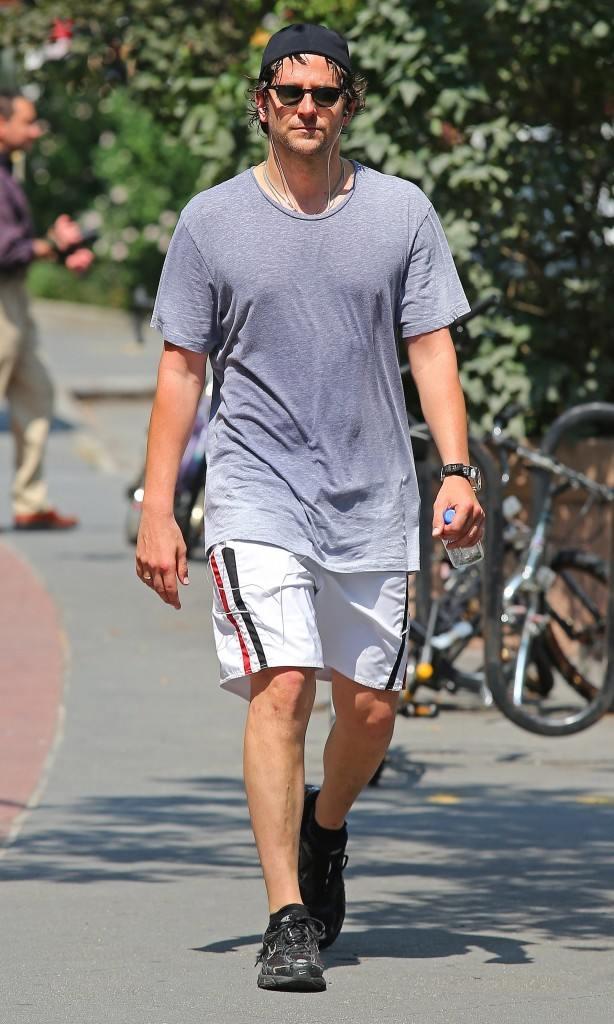Bradley Cooper, New York, 23 aout 2012.