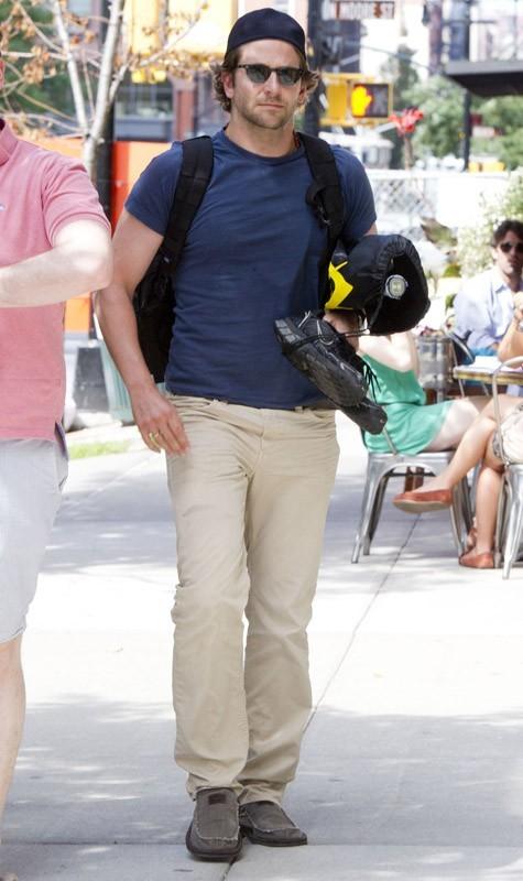 Bradley Cooper dans les rues de New York