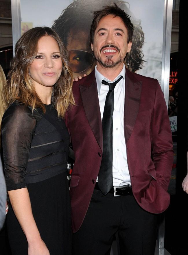 Robert Downey Jr. jamais sans sa femme Susan Downey !