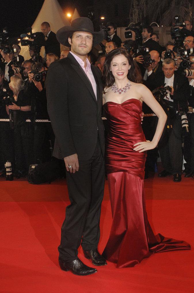 Rose McGowan et Robert Rodriguez