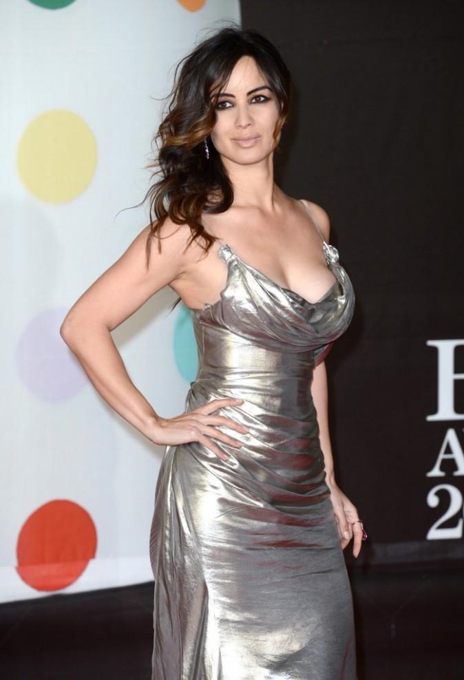 Bérénice Marlohe lors des Brit Awards 2013 à Londres, le 20 février 2013.