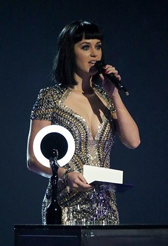 Katy Perry à Londres le 19 février 2014