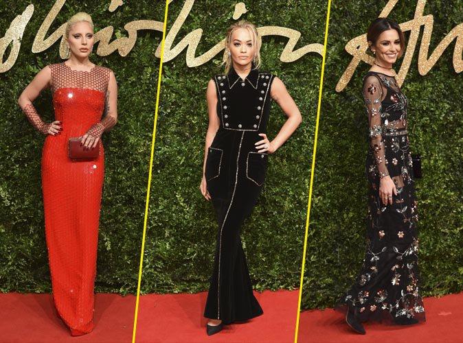 Lady Gaga, Rira Ora, Cheryl Fernandez-Versini