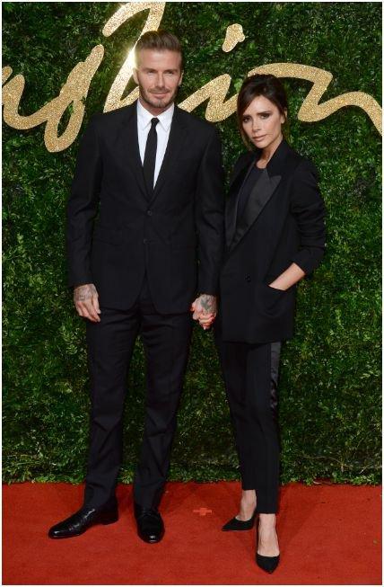 Photos : British Fashion Awards : Victoria et David Beckham : THE couple toujours glam !