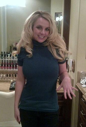 Britney Spears l'heureuse fiancée !