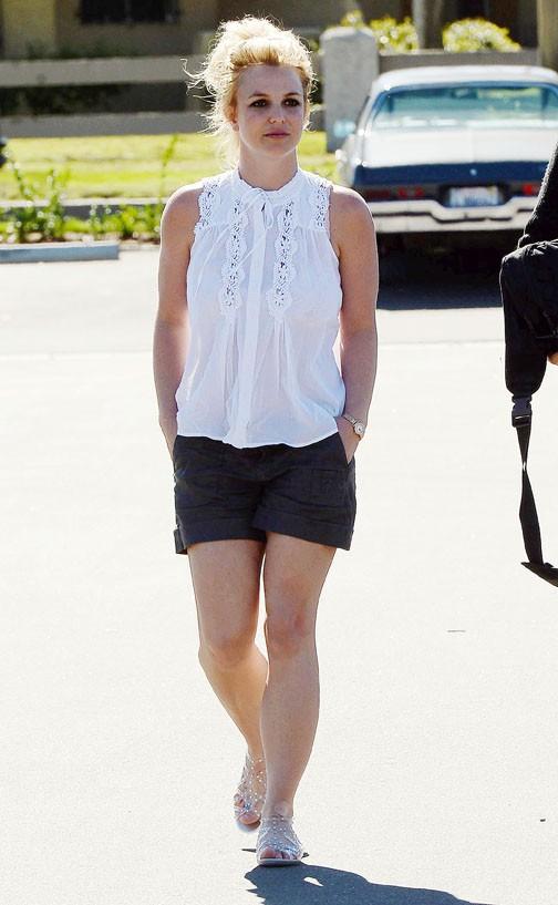 Britney Spears à Westlake Village le 9 février 2015