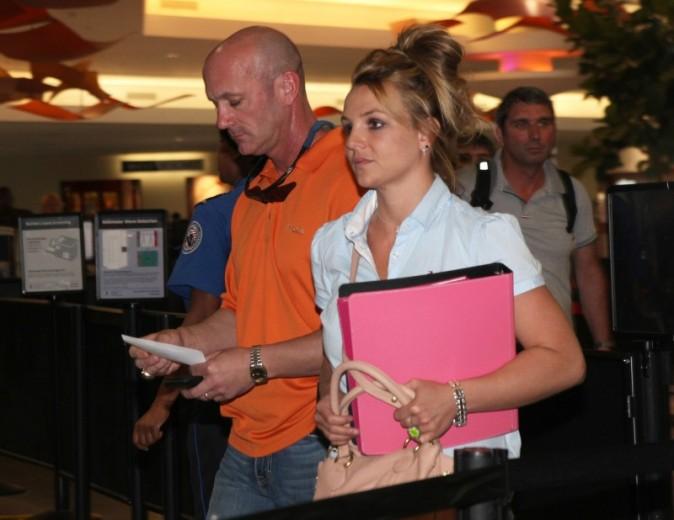 Britney Spears le 1er avril 2013 à la Nouvelle-Orléans