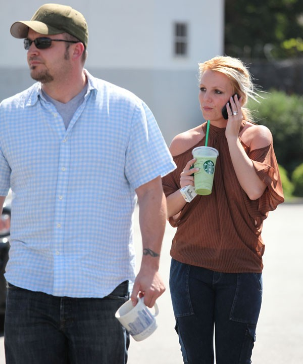 Britney Spears à Los Angeles le 4 octobre 2012