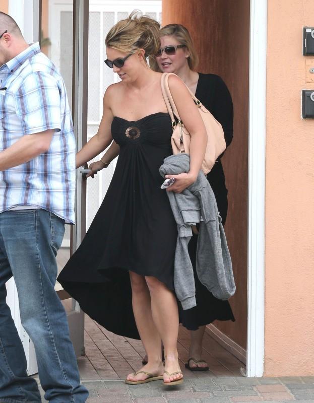 Britney Spears à Malibu, le 25 mars 2013.