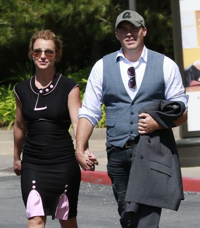 Britney Spears et David Lucado, Thousand Oaks, 22 mars 2013.