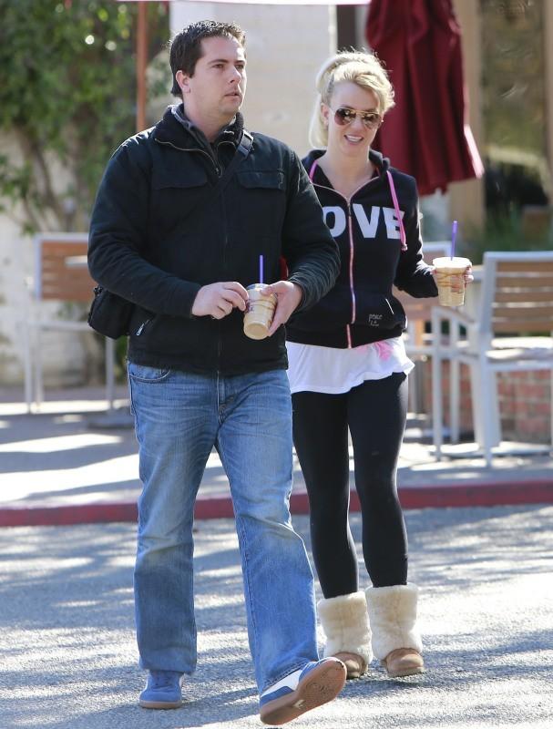 Britney Spears le 14 janvier 2013 à Los Angeles