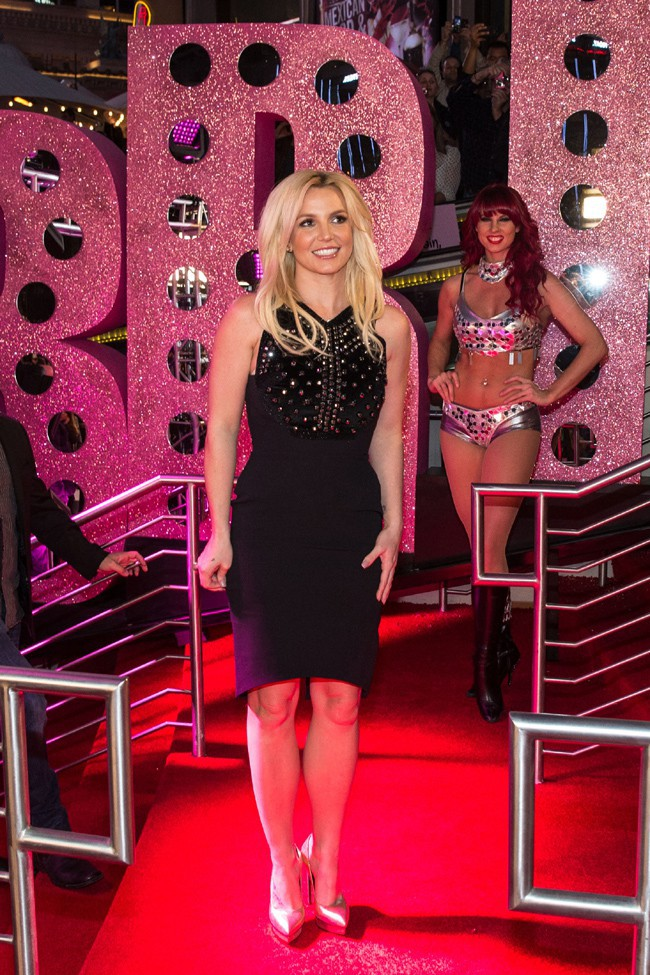 Britney Spears au Planet Hollywood Resort and Casino de Las Vegas le 3 décembre 2013