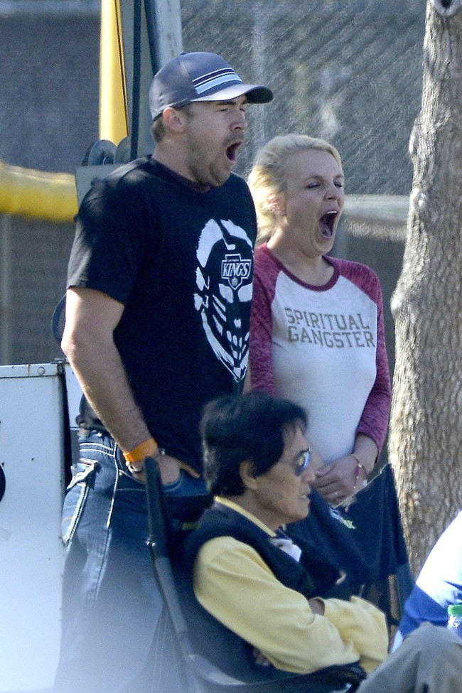 Britney Spears avec son chéri David Lucado à Tarzana le 9 novembre 2013