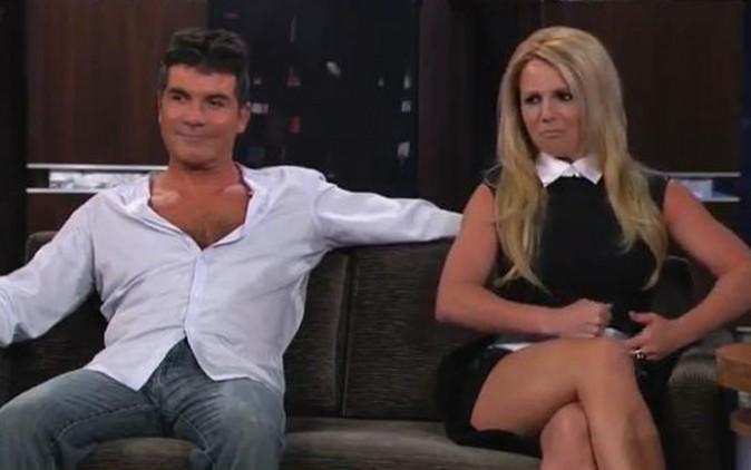 Britney Spears au Jimmy Kimmel Live le 12 septembre 2012