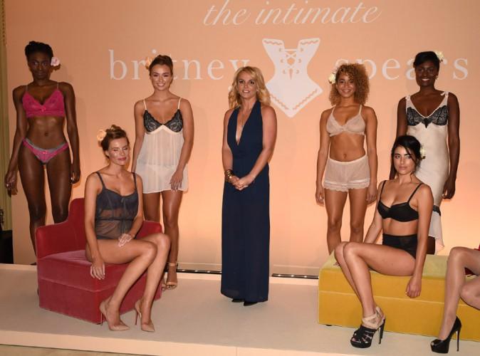 Britney Spears : Londres sans dessus dessous pour la présentation de sa marque de lingerie !
