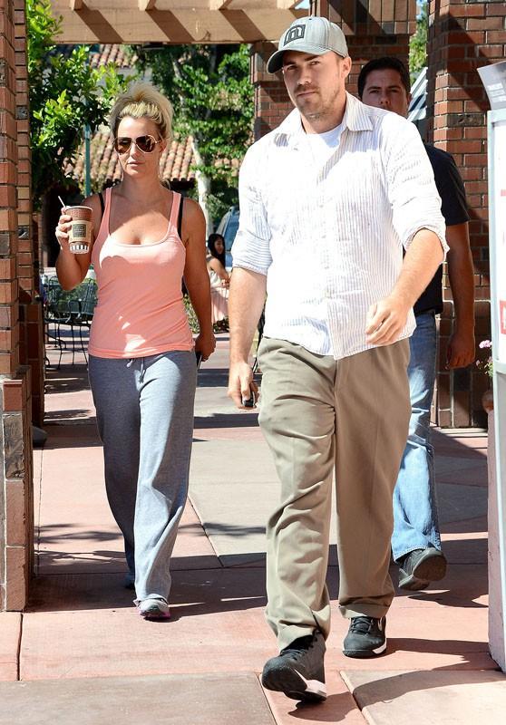 Britney Spears de sortie avec son boyfriend, David Lucado