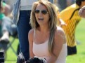 Photos : Britney Spears : maman poule surexcitée au match de foot de son fils Jayden James !