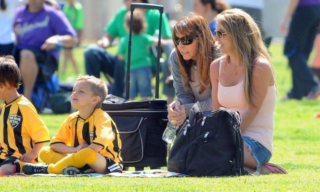 Britney Spears le 17 mars à Woodland Hills, en Californie