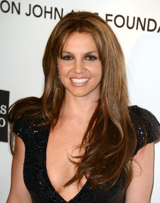 Britney Spears le 24 février 2013 à Los Angeles