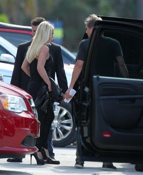 Britney Spears à Miami, le 23 juillet 2012.