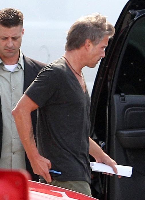 Jason Trawick à Miami, le 23 juillet 2012.
