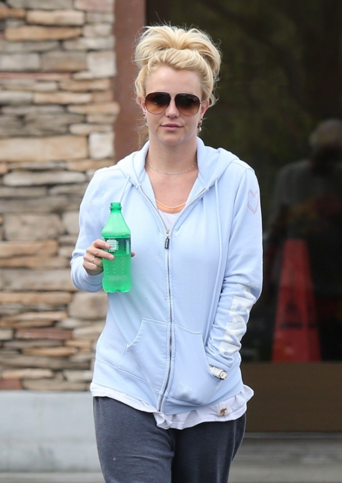Britney Spears, Thousand Oaks, 6 mai 2013.