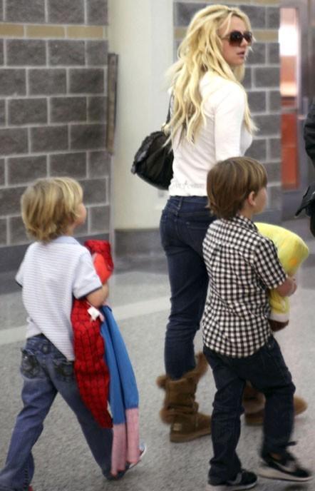 Britney veut plus laisser tomber ses fils