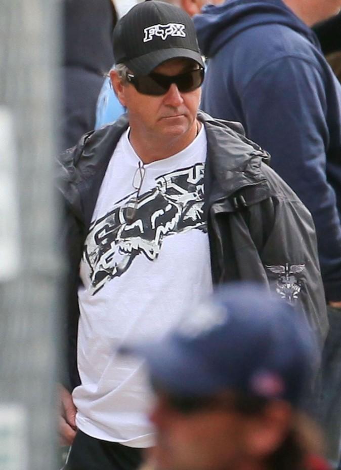 Jamie, le papa de Britney, pas d'huleur très souriante !