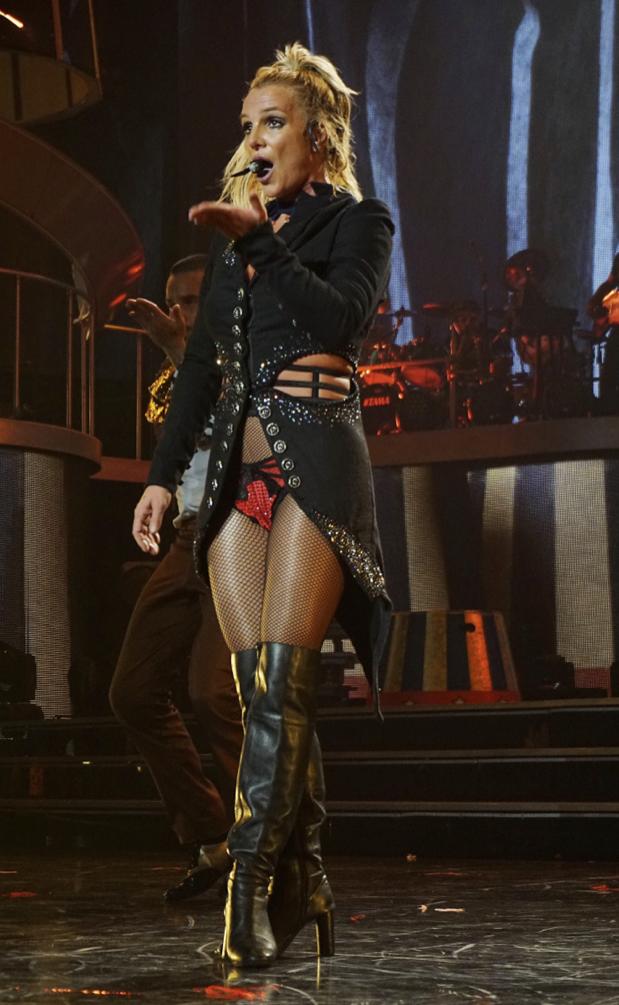 Britney Spears en concert à Las Vegas le 1er septembre