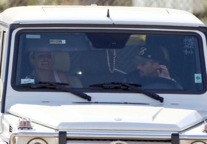 Pendant ce temps là, Britney se cache !