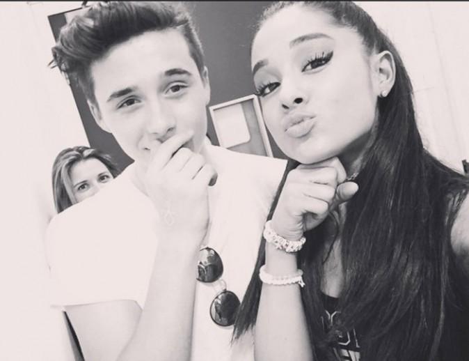 Brooklyn Beckham et Ariana Grande