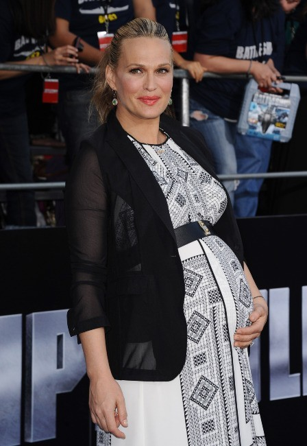 Molly Sims lors de la première du film Battleship à Los Angeles, le 10 mai 2012.