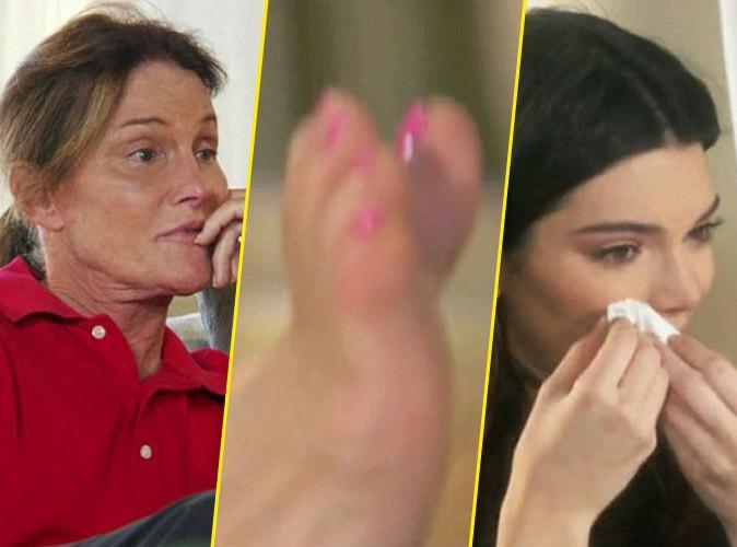Photos : Bruce Jenner fier de sa pédicure, Kendall en larmes…