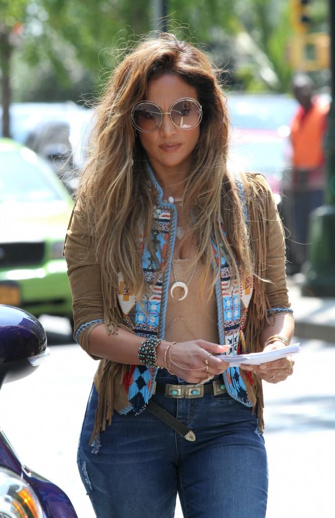 Jennifer Lopez le 24 août 2015