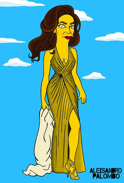 Photos : Caitlyn Jenner au lit avec Homer Simpson !