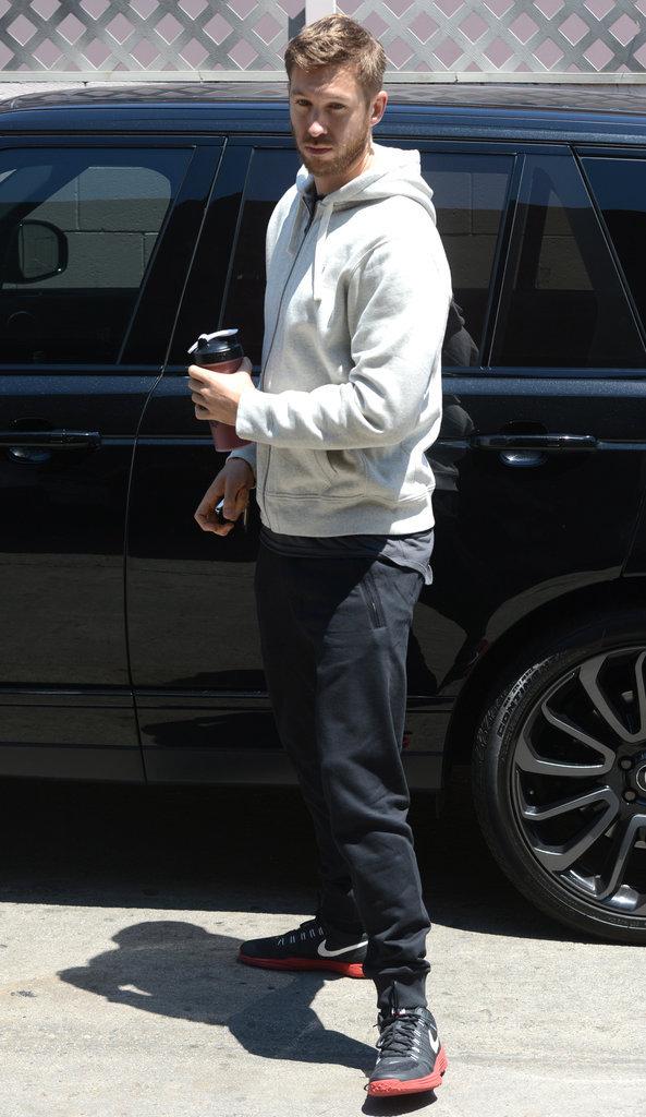 Calvin Harris dans les rues de Los Angeles