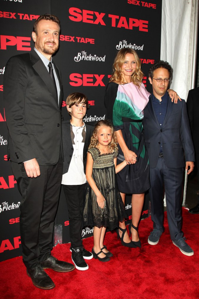 "Casting du film ""Sex Tape"" à New York, le 14 juillet 2014."