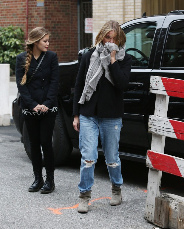 Cameron Diaz à New-York le 25 novembre 2014