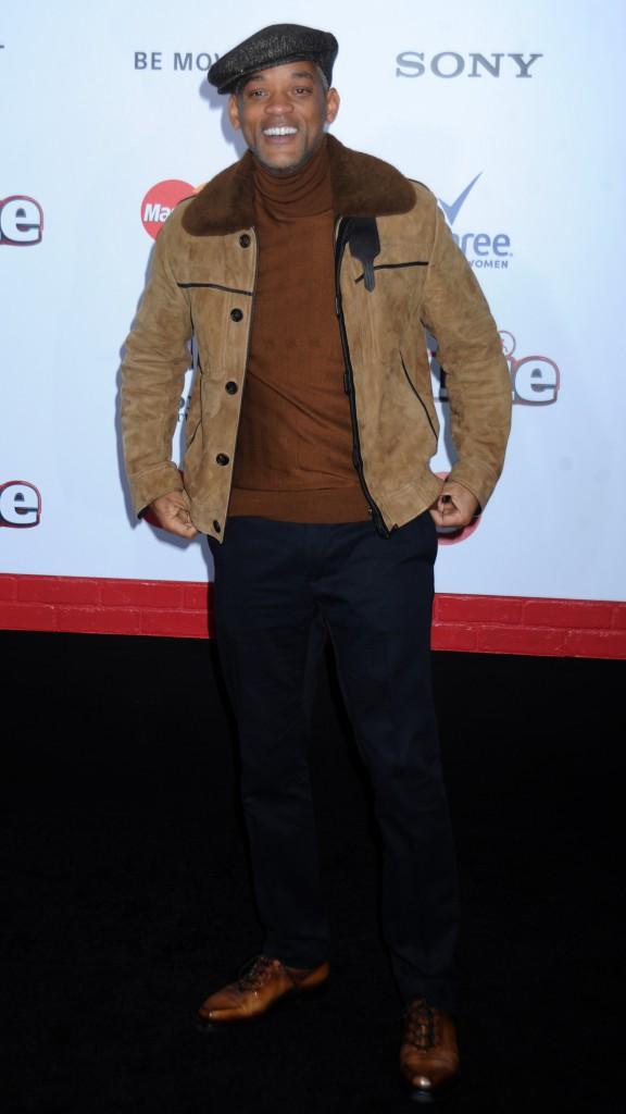 Will Smith le 7 décembre 2014