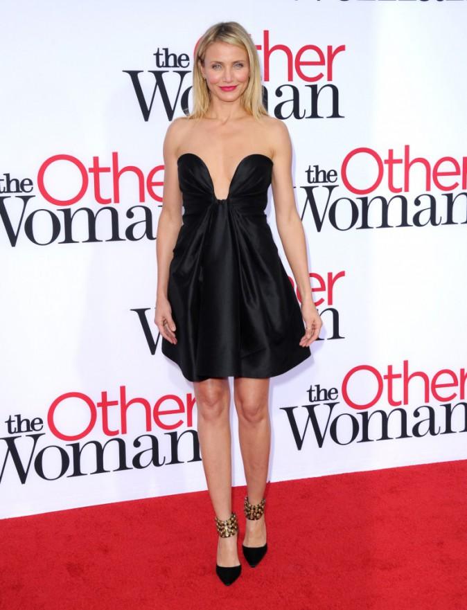 """Cameron Diaz lors de la première de """"The Other Woman"""" à Westwood, le 21 avril 2014."""